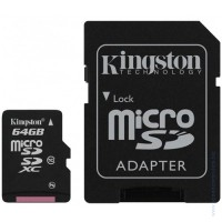 Карта памет KINGSTON 64GB microSDXC Class 10