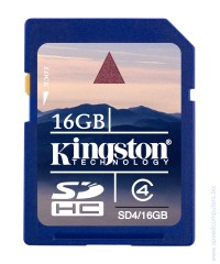 Карта памет KINGSTON 16GB SDHC Class 4