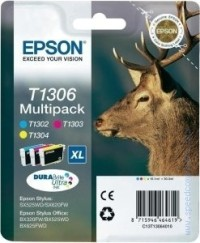 Консуматив Epson T130 Multi Pack - Retail Pack