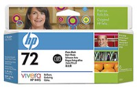 HP 72 130 ml Photo Black Ink Cartridge with Vivera Ink