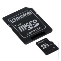 Карта памет KINGSTON 16GB microSD Class 4