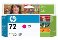 HP 72 130 ml Magenta Ink Cartridge with Vivera Ink