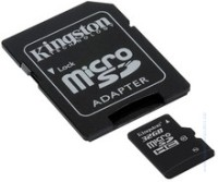 Карта памет KINGSTON 32GB microSDHC Adapter Class 10