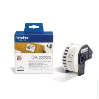 Консуматив Brother DK-22225 White Continuous Length Paper Tape