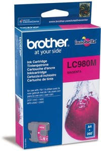 Brother LC-980M Ink Cartridge for DCP-145/165/195/375, MFC-250/290 series