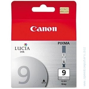 Canon PGI-9GY Grey Ink tank for PIXMA Pro 9500 for Pixma Pro9500 and pro9500 Mark II