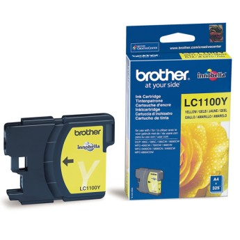 Brother LC-1100Y Ink Cartridge Standard for DCP-6690/6890/385/585, MFC-6490/490/790 за DCP-6690/6890/385/585, MFC-6490/490/790
