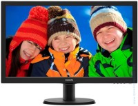 "Philips 233V5LHAB 23"" Slim LED Full HD монитор"