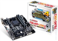 Дънна платка Gigabyte 78LMT-USB3, AM3+, AMD760G mATX