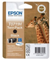 Epson T0711 High Capacity Black Ink Cartridge съвместим