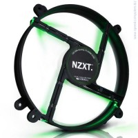 NZXT FS 200MM FAN GREEN LED вентилатор