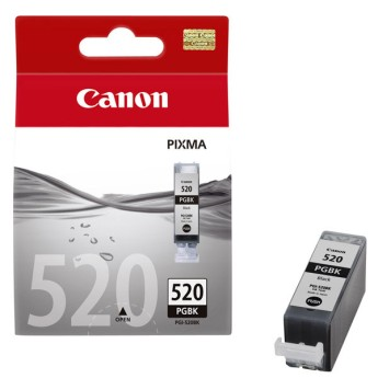 Canon Ink Tank PGI-520 Black Single Ink Tank black for iP3600, iP4600, MP540, MP620, MP630, MP980