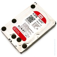 Твърд диск Western Digital Red 3.5'' 4000GB 64MB RPM IntelliPower SATA III