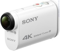Цифрова видеокамера Sony FDR-X1000VR 4K Action CAM, Body (Бял) + Live-View Remote Kit