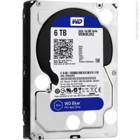 "Твърд диск Western Digital 6TB Blue 3.5"" SATAIII 64MB"