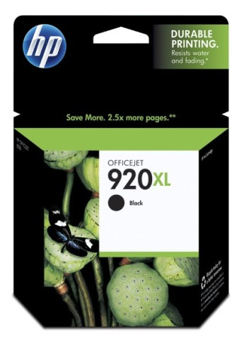HP 920XL Black Officejet Ink Cartridge HP Officejet 6500 Printer series