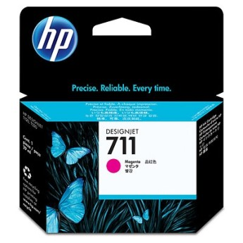 HP 711 29-ml Magenta Ink Cartridge HP Designjet T120 and HP Designjet T520 ePrinter series