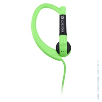 Слушалки Canyon sport over-ear CNS-SEP1G Зелен Слушалки Canyon sport over-ear CNS-SEP1G