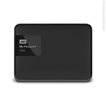 Твърд диск Western Digital 3TB USB 3.0 MyPassport Ultra Classic черен Твърд диск Western Digital 3TB USB 3.0 MyPassport Ultra Classic черен