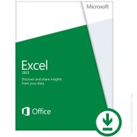 Microsoft® Excel 2013 32/64 English PkLic Online DwnLd C2R NonCommercial NR