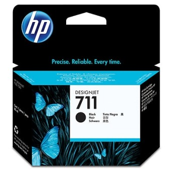 HP 711 80-ml Black Ink Cartridge HP Designjet T120 and HP Designjet T520 ePrinter series