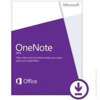 Microsoft® OneNote 2013 32/64 English PkLic Online DwnLd C2R NonCommercial NR