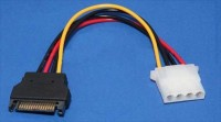 Кабел SATA Power M / Molex 4pin адаптер