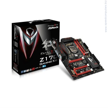 Дънна платка ASROCK Z170 GAMING K6 • ПроцесорSupports 6th Generation Intel® Core™ i7/i5/i3/Pentium®/Celeron® Processors (Socket 1151)Digi Power design12 Power Phase designSupports Intel® Turbo Boost 2.0 TechnologySupports Intel® K-Series unlocked CPUsSupports ASRock BCLK Full-range OverclockingSupports ASRock Hyper BCLK Engine