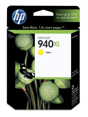 HP 940XL Yellow Officejet Ink Cartridge HP Officejet Pro 8000 Printer series, HP Officejet Pro 8500 All-in-One Printer series