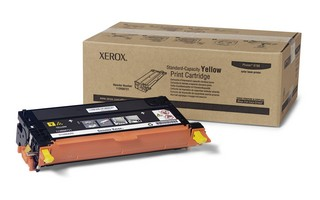 Xerox Phaser 6180 Yellow standard capacity print cartridge Phaser™ 6180MFP, Phaser 6180