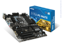 Дънна платка MSI Z170A PC MATE