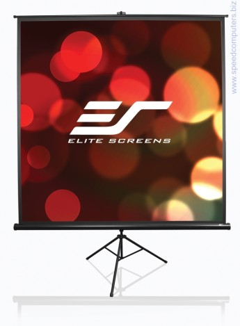 "Екран Elite Screen T120UWV1 Tripod 120"" (4:3) Диагонал: 120"" (304.8 cm)Размери: 243.8x182.9Формат: 4:3Материал: MaxWhite"