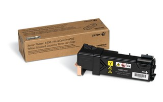 Xerox Phaser 6500N/6500DN and WC 6505N / 6505DN Yellow Toner Cartridge Phaser 6500, WorkCentre 6505