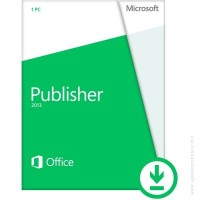 Microsoft® Publisher 2013 32/64 English PkLic Online DwnLd C2R NR