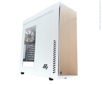 Кутия Zalman R1 White Soundproof ATX USB3.0 обезшумена