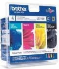 Brother LC-1100BK/C/M/Y VALUE BP Ink Cartridge Standard Set