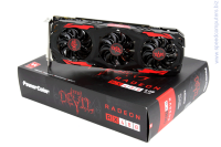 POWER COLOR Red Devil AX RX 480 8GBD5 3DH/OC   Видео карта