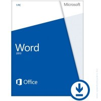 Microsoft® Word 2013 32/64 English PkLic Online DwnLd C2R NonCommercial NR
