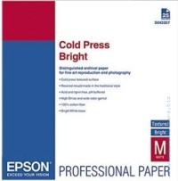 Хартия Epson Cold Press Bright A3+