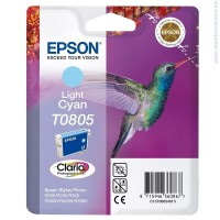 Консуматив Epson T0805 Light Cyan Ink Cartridge - Retail Pack (untagged)