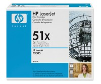 HP Black Print Cartridge for LJ P3005/M3035mfp/M3027mfp, up to 13 000 pages