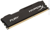 Памет Kingston HyperX Fury Black 4GB DDR3 1600MHz Non-ECC DIMM