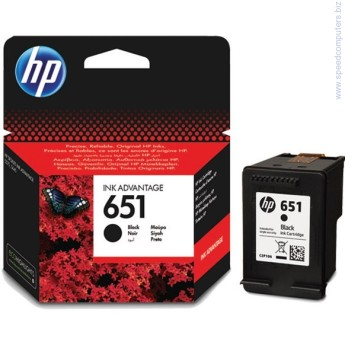 Консуматив HP 651 Black Ink Cartridge Консуматив HP 651 Black Ink Cartridge