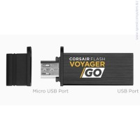 Флаш памет Corsair Flash Voyager GO 64GB