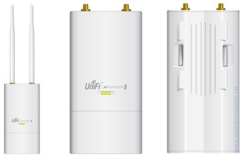 UniFi безжична точка за достъп Ubiquiti UAP-OUTDOOR-5 5GHz 