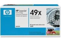 HP LaserJet 1320 High Volume Smart Print Cartridge, black