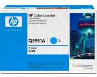 HP Color LaserJet Q5951A Cyan Print Cartridge for CLJ 4700, up to 10.000 pages