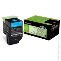 Консуматив Lexmark 802C Cyan Return Program Toner Cartridge