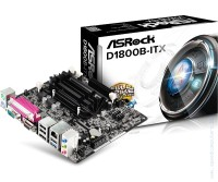 Дънна платка AsRock D1800B-ITX, 1170 mini-ITX Box