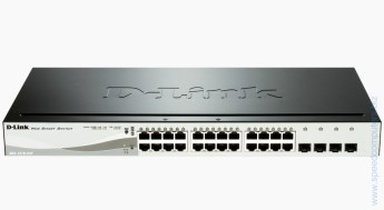 Switch D-Link DGS-1210-24P 24 PoE 10/100/1000 Base-T port + 4 SFP 